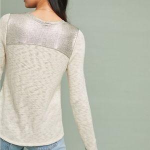 AMADI | Anthropologie Moonlight Shine Knit Sweater